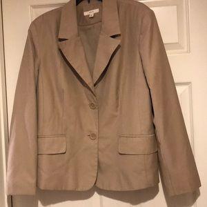 Khaki Tan Jacket/Blazer